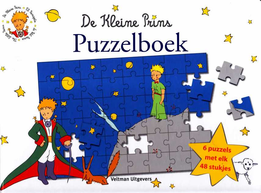 Citaten Uit De Kleine Prins : De kleine prins puzzelboek melanie rhauderwiek tekst