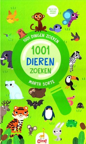 Coverafbeelding van: 1001 dieren zoeken