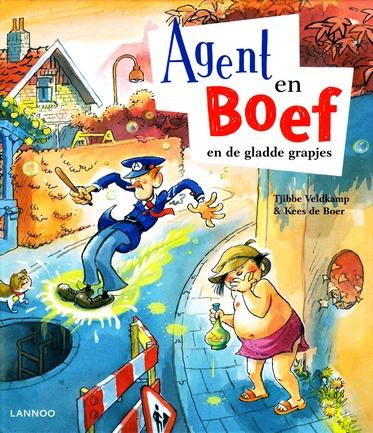 Coverafbeelding van: Agent en Boef en de gladde grapjes