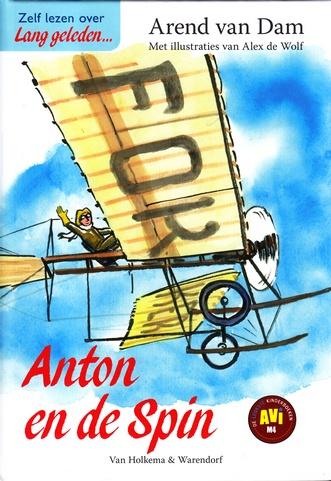 Coverafbeelding van: Anton en de Spin