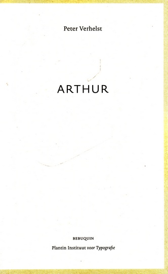 Coverafbeelding van: Arthur