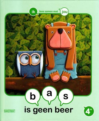 Coverafbeelding van: bas is geen beer