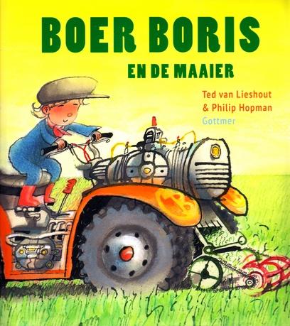 Coverafbeelding van: Boer Boris en de maaier