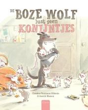 Coverafbeelding van: De boze wolf lust geen konijntjes