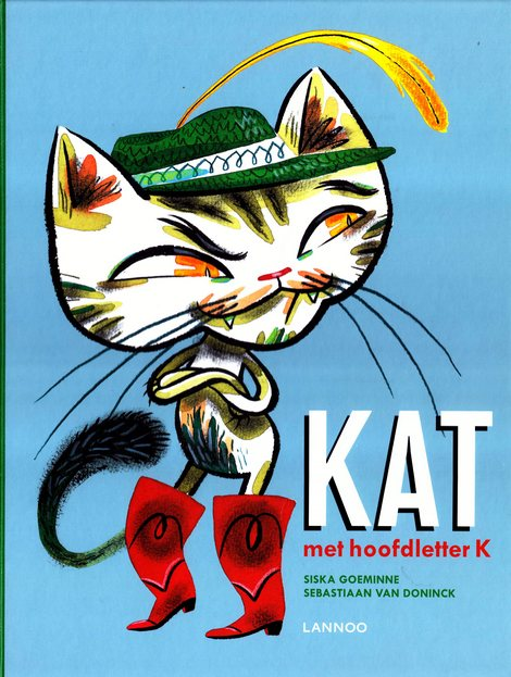 Coverafbeelding van: Kat met hoofdletter K