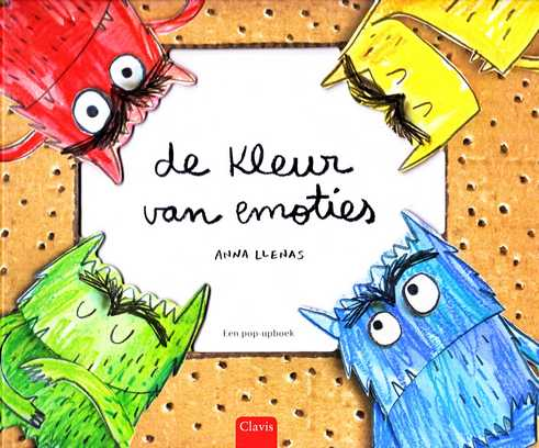 Coverafbeelding van: De kleur van emoties (pop-up)