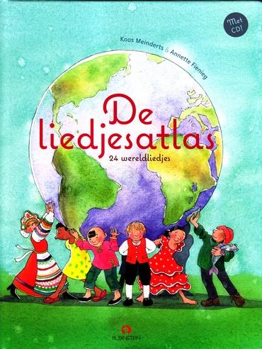 Coverafbeelding van: De liedjesatlas (24 wereldliedjes met CD)