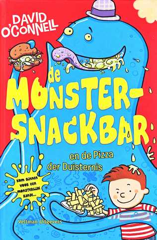 Coverafbeelding van: De Monstersnackbar en de Pizza der Duisternis – De Monstersnackbar, deel 2