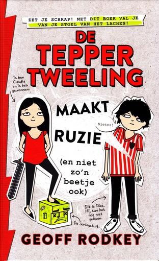 Coverafbeelding van: De Tepper-tweeling maakt ruzie