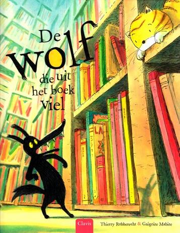 Coverafbeelding van: De wolf die uit het boek viel