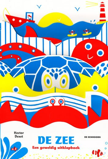 Coverafbeelding van: De zee. Een geweldig uitklapboek