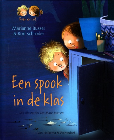 Coverafbeelding van: Een spook in de klas