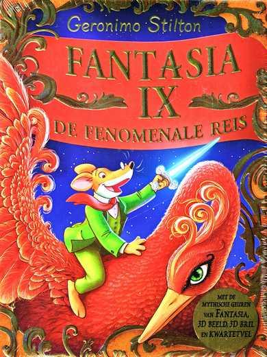 Coverafbeelding van: Fantasia IX: De fenomenale reis