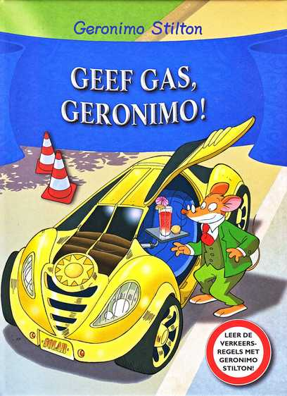 Coverafbeelding van: Geef gas, Geronimo!