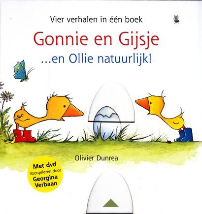 Coverafbeelding van: Gonnie en Gijsje…en Ollie natuurlijk! + dvd