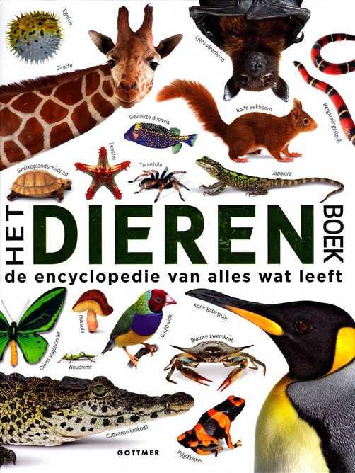 Coverafbeelding van: Het dierenboek – de encyclopedie van alles wat leeft