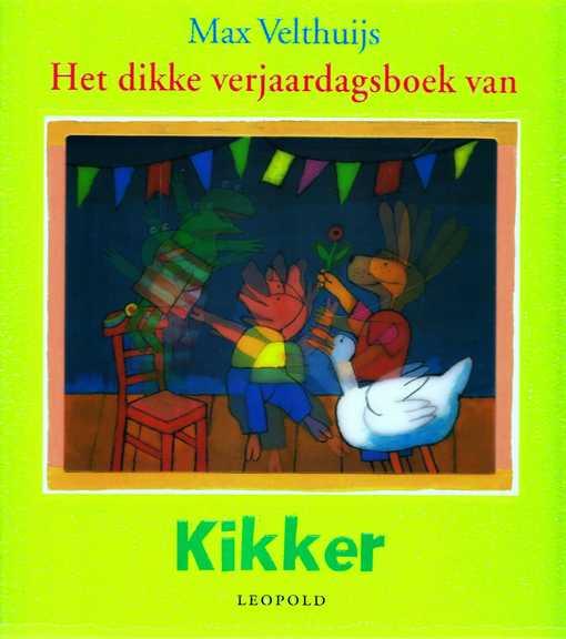 Coverafbeelding van: Het dikke verjaardagsboek van Kikker
