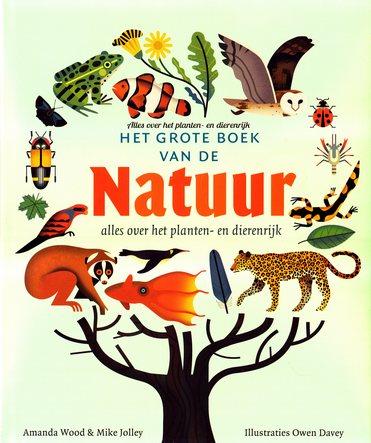 Coverafbeelding van: Het grote boek van de natuur. Alles over het planten- en dierenrijk