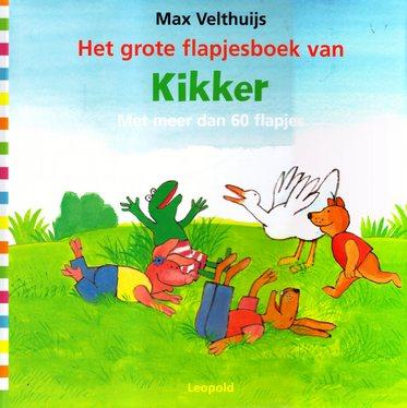 Coverafbeelding van: Het grote flapjesboek van Kikker
