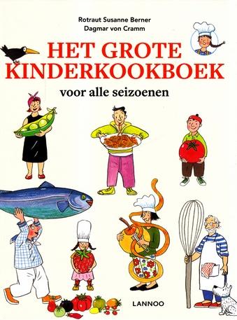 Coverafbeelding van: Het grote kinderkookboek voor alle seizoenen