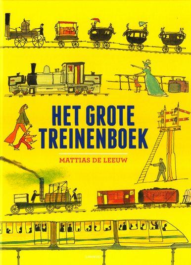Coverafbeelding van: Het grote treinenboek