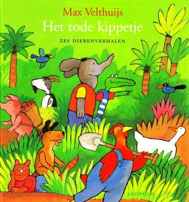 Coverafbeelding van: Het rode kippetje – zes dierenverhalen