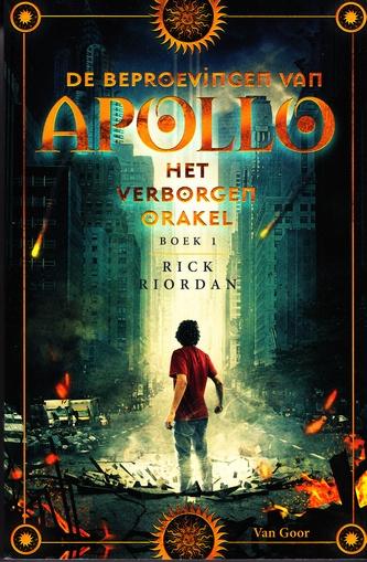 Coverafbeelding van: Het verborgen orakel – De beproevingen van Apollo, deel 1