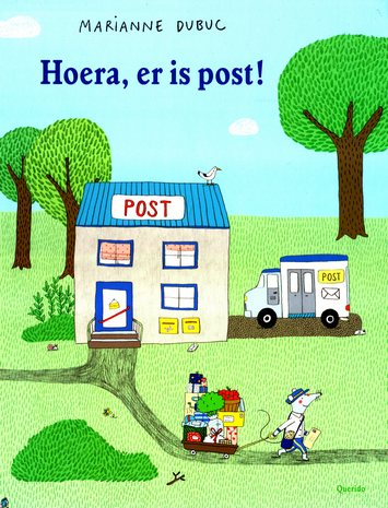 Coverafbeelding van: Hoera, er is post!