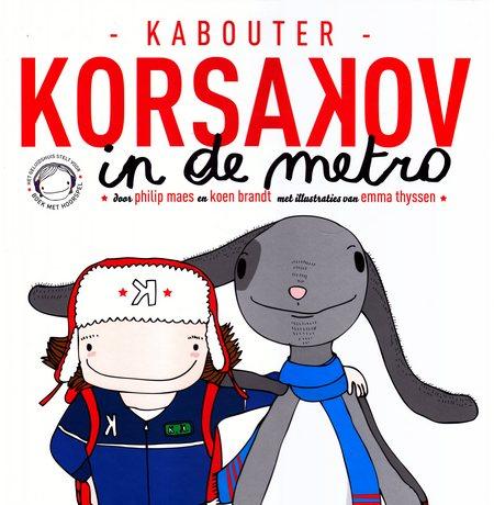 Coverafbeelding van: Kabouter Korsakov in de metro