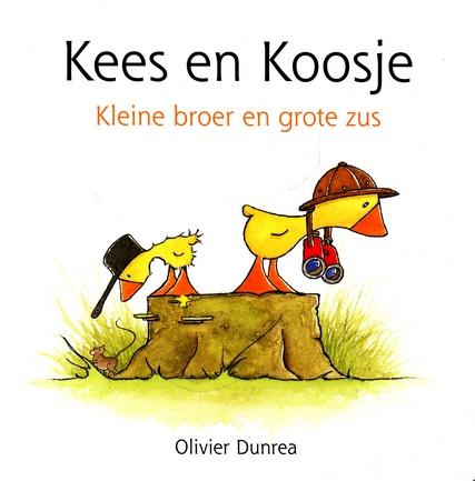 Coverafbeelding van: Kees en Koosje. Kleine broer en grote zus