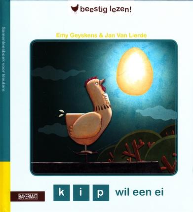 Coverafbeelding van: kip wil een ei