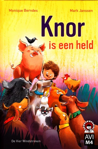 Coverafbeelding van: Knor is een held