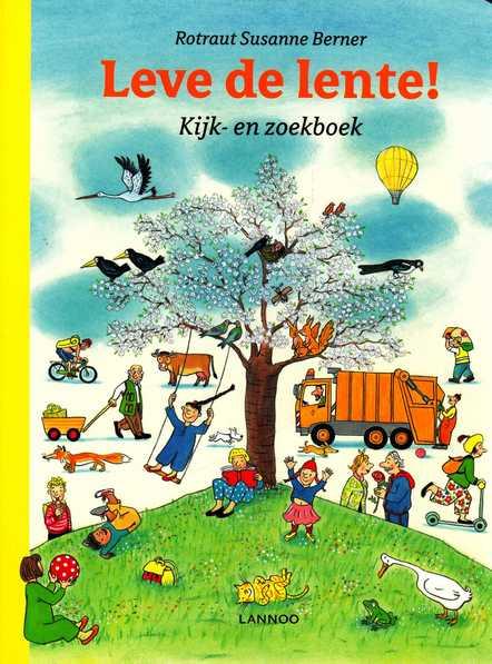 Coverafbeelding van: Leve de lente! Kijk- en zoekboek