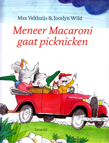 Coverafbeelding van: Meneer Macaroni gaat picknicken