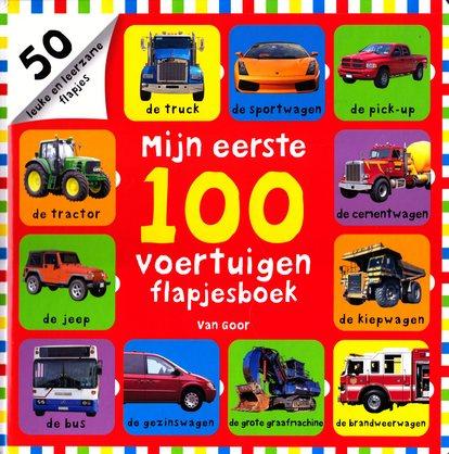 Coverafbeelding van: Mijn eerste 100 voertuigen flapjesboek