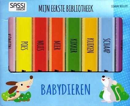 Coverafbeelding van: Mijn eerste bibliotheek: babydieren