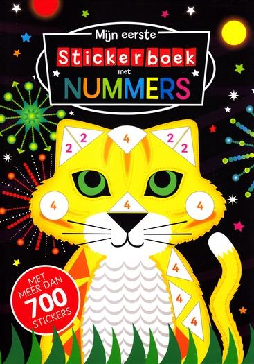 Coverafbeelding van: Mijn eerste stickerboek met nummers