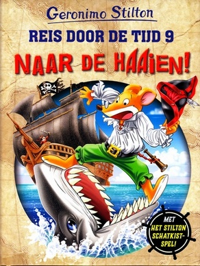 Coverafbeelding van: Reis door de tijd 9: Naar de haaien!