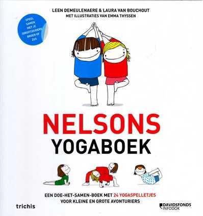 Coverafbeelding van: Nelsons yogaboek. Een doe-het-samen-boek met 24 yogaspelletjes voor kleine en grote avonturiers