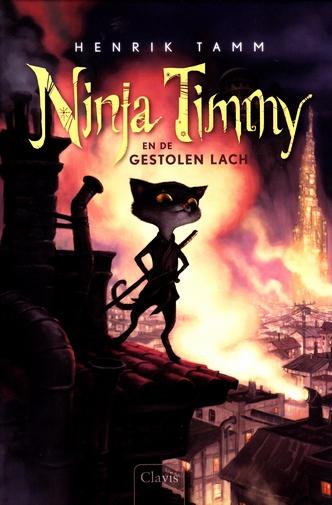 Coverafbeelding van: Ninja Timmy en de gestolen lach