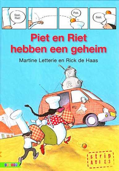 Coverafbeelding van: Piet en Riet hebben een geheim