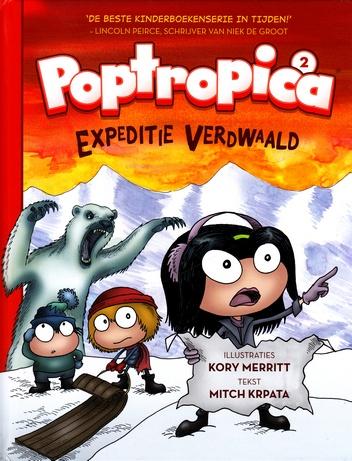 Coverafbeelding van: Expeditie Verdwaald – Poptropica, deel 2