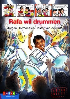 Coverafbeelding van: Rafa wil drummen
