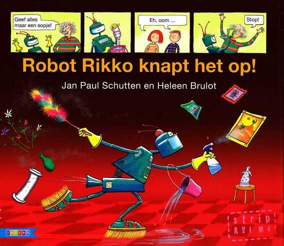 Coverafbeelding van: Robot Rikko knapt het op!