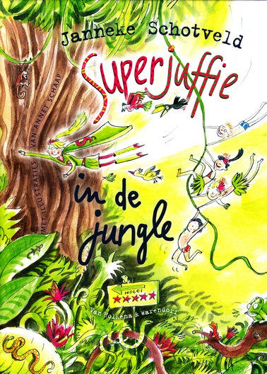 Coverafbeelding van: Superjuffie in de jungle