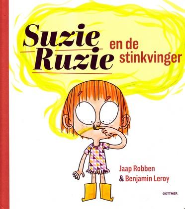 Coverafbeelding van: Suzie Ruzie en de stinkvinger
