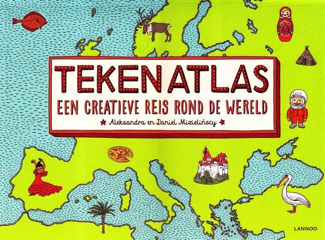 Coverafbeelding van: Tekenatlas – een creatieve reis rond de wereld
