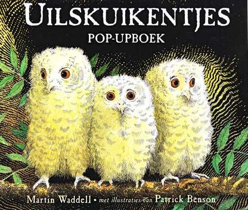 Coverafbeelding van: Uilskuikentjes – popupboek