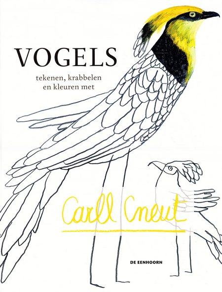 Coverafbeelding van: Vogels – tekenen, krabbelen en kleuren met
