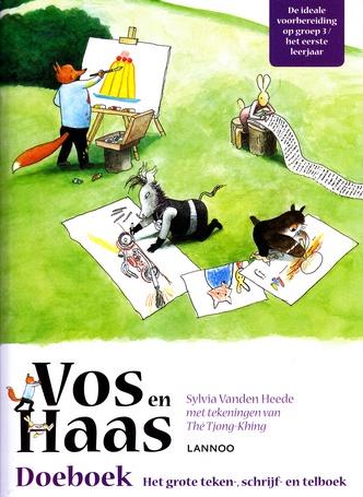 Coverafbeelding van: Vos en Haas – doeboek. Het grote teken-, schrijf- en telboek